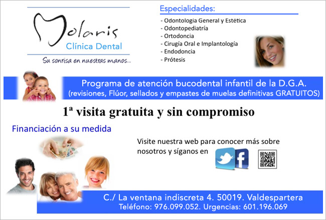 Molaris Clinica Dental Valdespartera